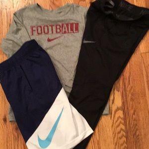 3 PCs.Nike Tee, Pant & Short.